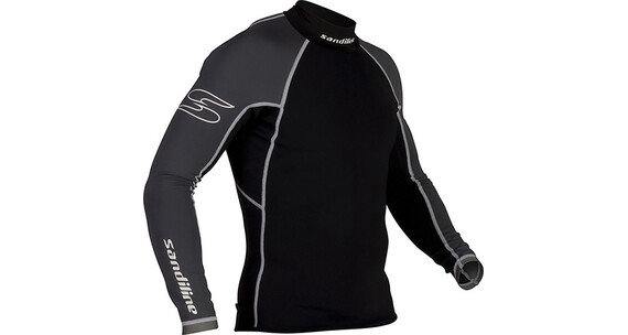 Sandiline Skin 05 Superflex Shirt LS Black/Grey